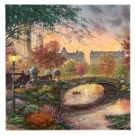 "Autumn in New York - 14"" x 14"" - Gallery Wrap Canvas"