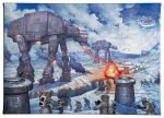 "The Battle Of Hoth - 10"" 14"" - Gallery Wrap Canvas"