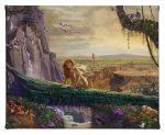 "Lion King Returned to Pride Rock - 8"" x 10"" - Gallery Wrapped Canvas"