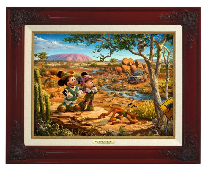 Mickey and Minnie in the Outback – Canvas Classics