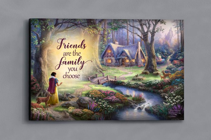 Snow White Discovers the Cottage – Wood Sign
