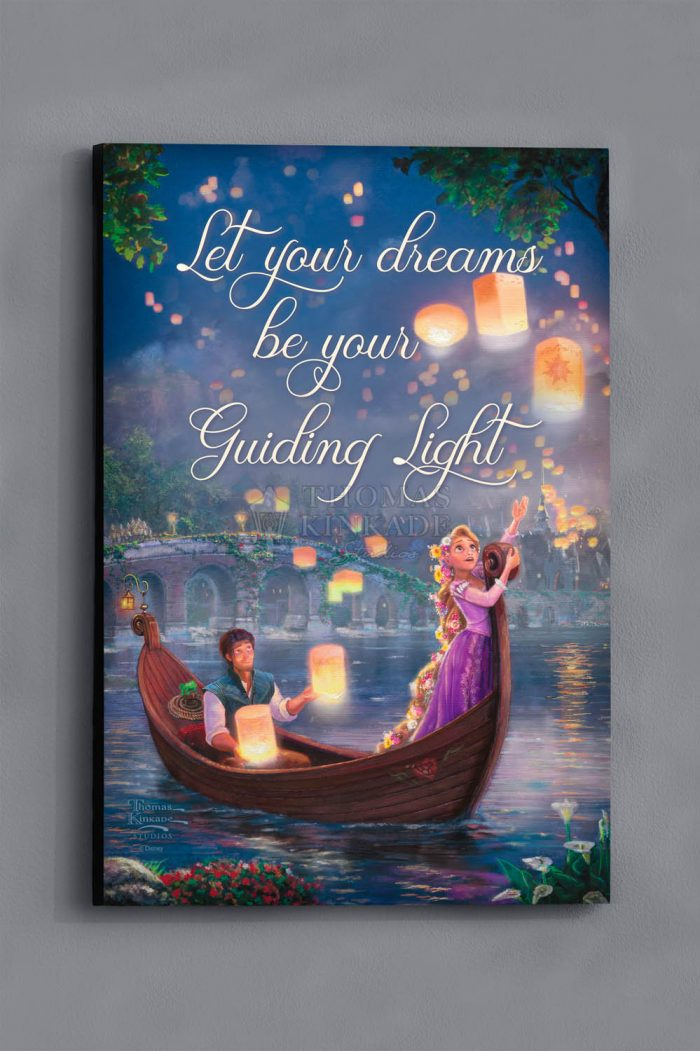 Tangled – Wood Sign