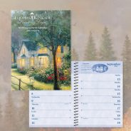 Thomas Kinkade Painter of Light with Scripture 2020 Engagement Calendar