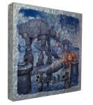 The Battle of Hoth – 14″ x 14″ – Metal Box Art