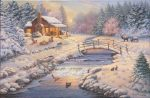 A Winter Retreat – Limited Edition Canvas