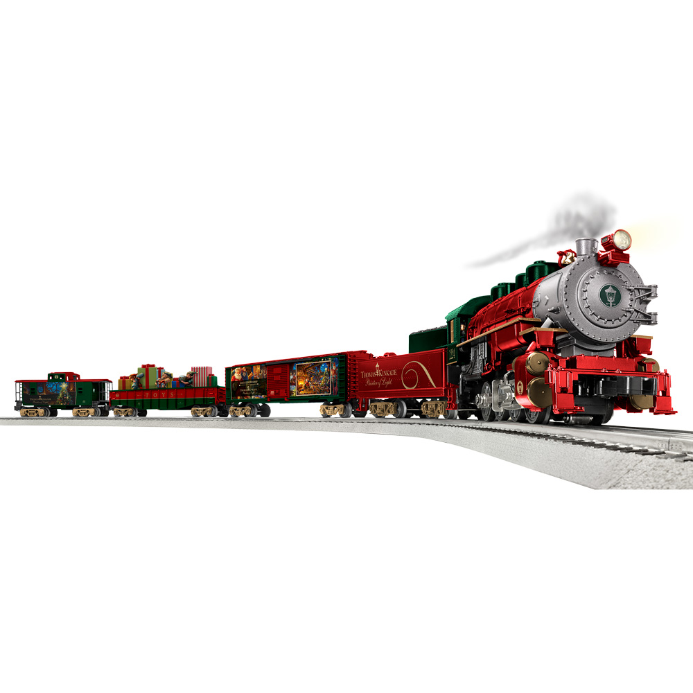 The Winners for Christmas LionChief Train Set featuring Santa's Workshop Giveaway!