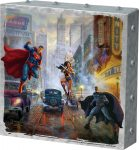 Batman, Superman, Wonder Woman – 10″ x 10″ Metal Box Art