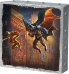 The Dark Knight Saves Gotham City – 10″ x 10″ Metal Box Art