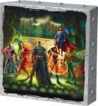 The Justice League – 10″ x 10″ Metal Box Art