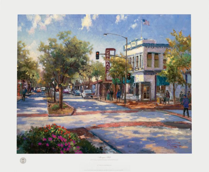 Morgan Hill – 16″ x 20″ Limited Edition Paper