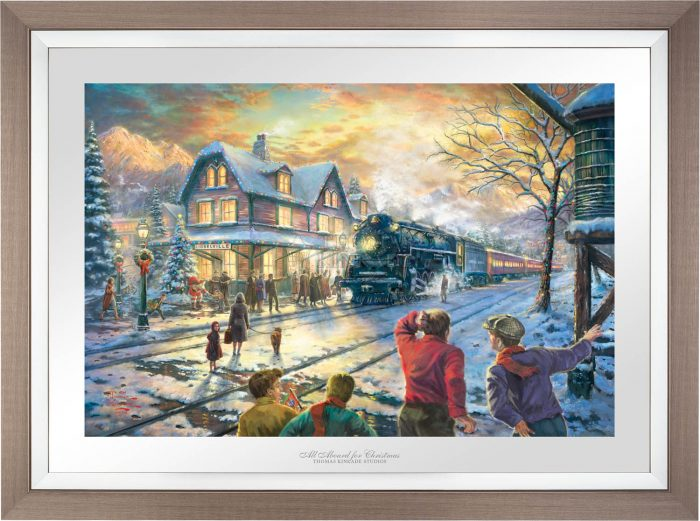 All Aboard for Christmas – Limited Edition Paper