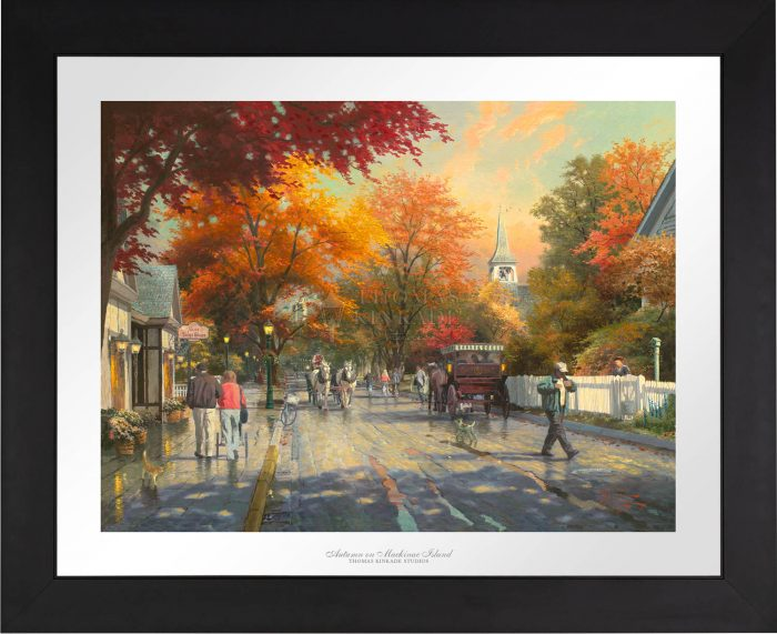 Autumn on Mackinac Island – Limited Edition Paper