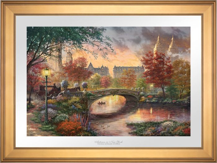 Autumn in New York – Limited Edition Paper