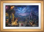 Beauty and the Beast Dancing in the Moonlight – Limited Edition Paper