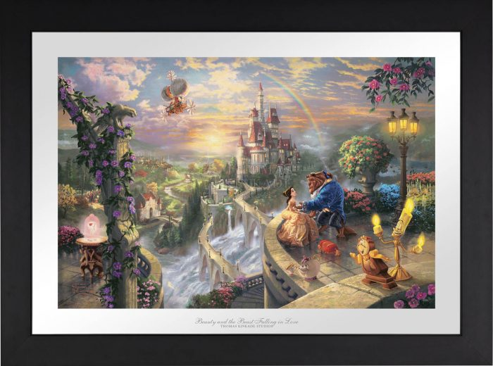 Beauty and the Beast Falling in Love – Limited Edition Paper