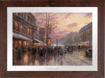 Boulevard Lights, Paris – Limited Edition Paper