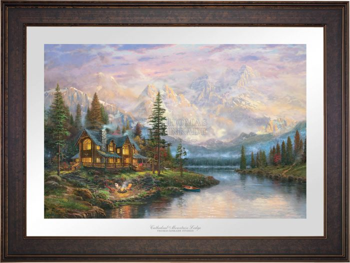 Cathedral Mountain Lodge – Limited Edition Paper