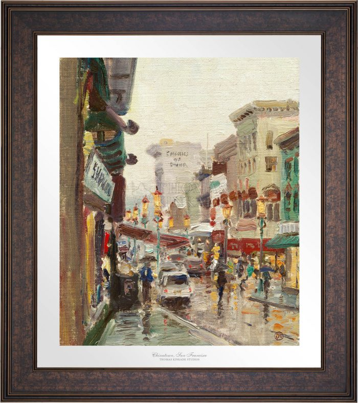 Chinatown, San Francisco – Limited Edition Paper
