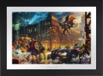 The Dark Knight Saves Gotham City – Limited Edition Paper