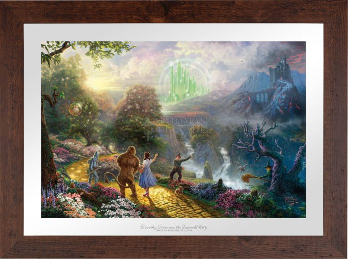 Dorothy Discovers the Emerald City – Limited Edition Paper