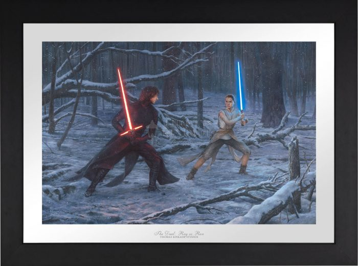 The Duel: Rey vs. Ren – Limited Edition Paper
