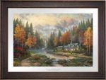 Evening at Autumn Lake – Limited Edition Paper