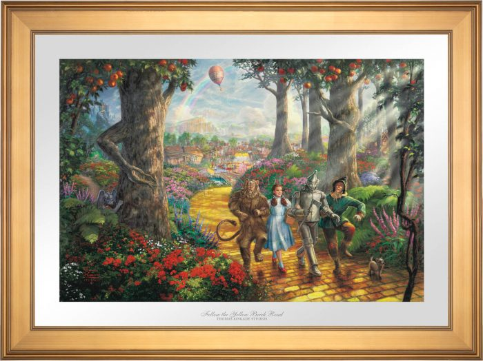 Follow The YELLOW BRICK ROAD – Limited Edition Paper