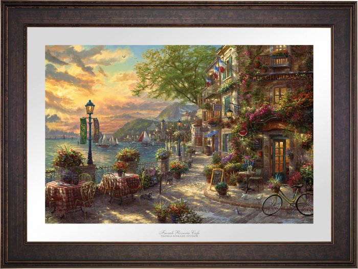 French Riveria Café – Limited Edition Paper