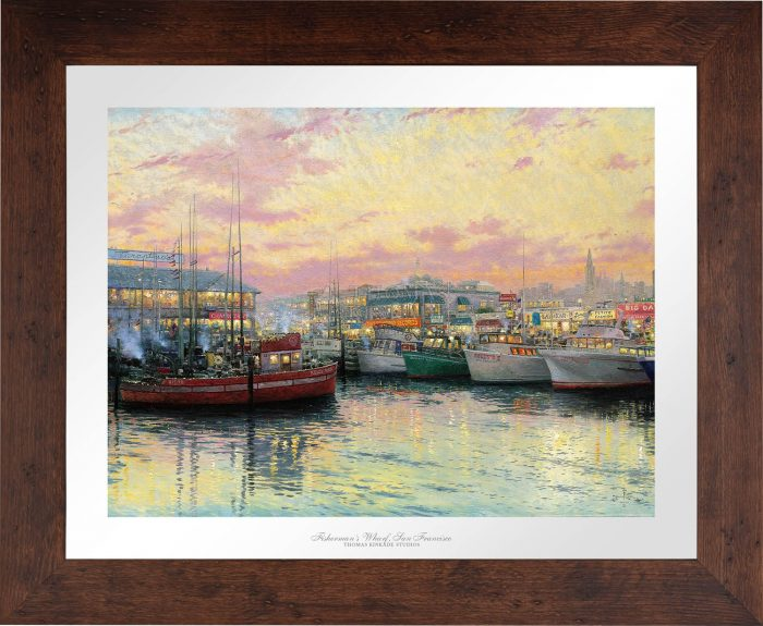 San Francisco, Fisherman's Wharf – Limited Edition Paper