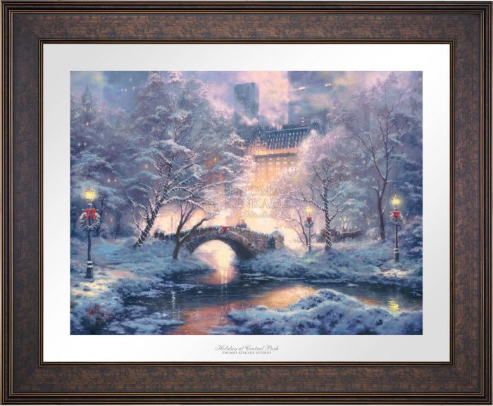 Holiday at Central Park – Limited Edition Paper