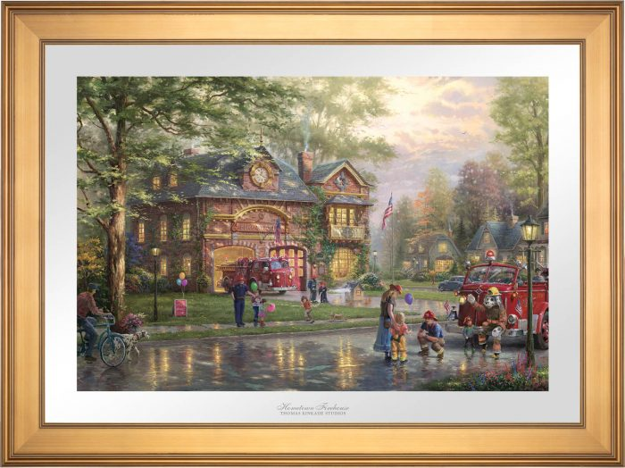 Hometown Firehouse – Limited Edition Paper