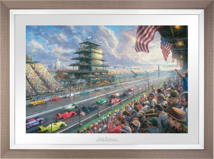 Indy® Excitement, 100 Years of Racing at Indianapolis Motor Speedway® – Limited Edition Paper