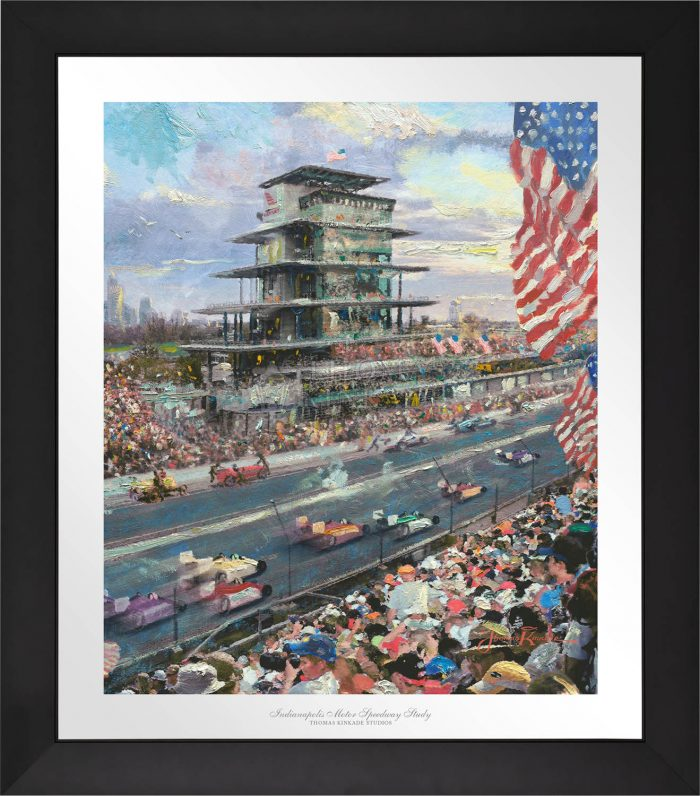 Indianapolis Motor Speedway® 100th Anniversary Study – Limited Edition Paper