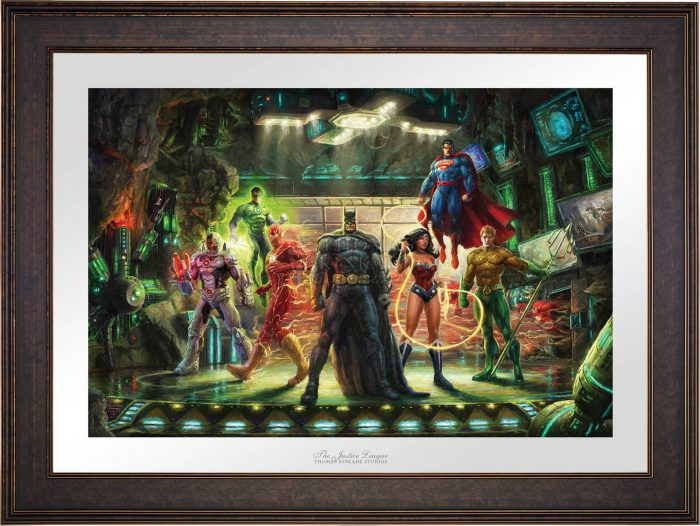 The Justice League – Limited Edition Paper