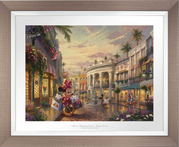 Minnie Rocks the Dots on Rodeo Drive – Limited Edition Paper