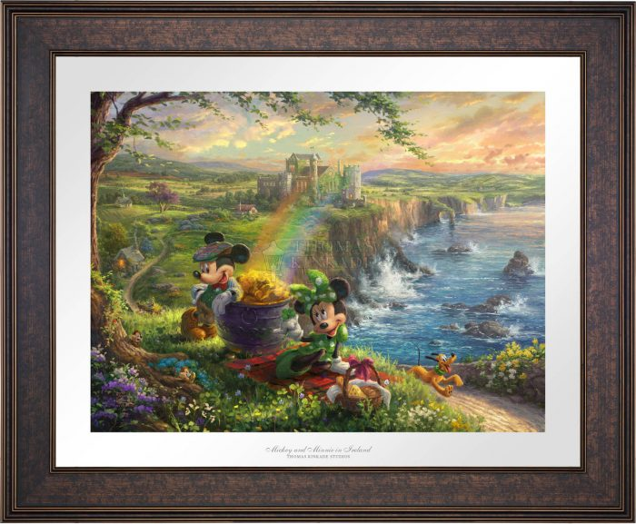Mickey and Minnie in Ireland – Limited Edition Paper