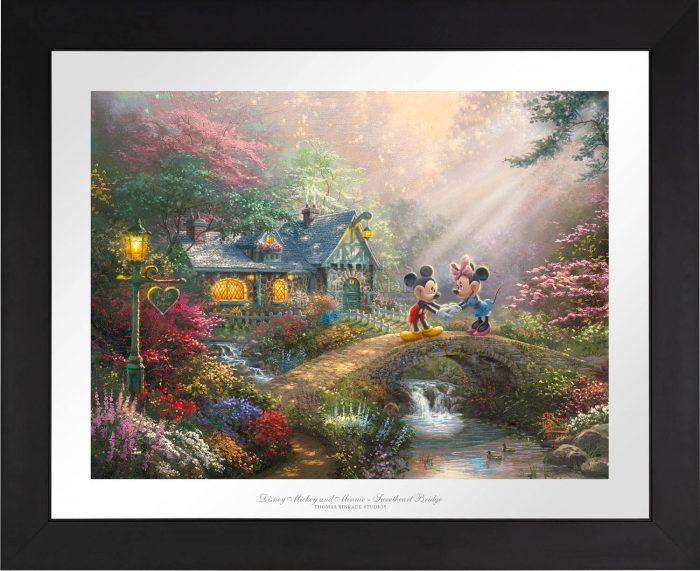 Mickey and Minnie – Sweetheart Bridge – Limited Edition Paper