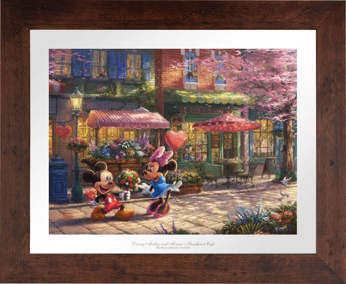 Mickey and Minnie – Sweetheart Café – Limited Edition Paper
