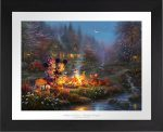 Mickey and Minnie Sweetheart Campfire – Limited Edition Paper