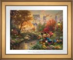 Mickey and Minnie – Sweetheart Central Park – Limited Edition Paper