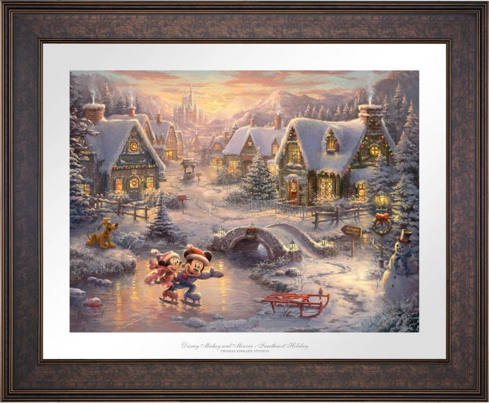 Mickey and Minnie – Sweetheart Holiday – Limited Edition Paper