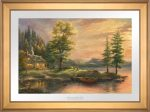 Morning Light lake – Limited Edition Paper