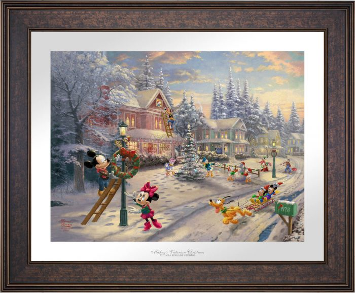Mickey's Victorian Christmas – Limited Edition Paper