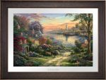 New England Harbor – Limited Edition Paper