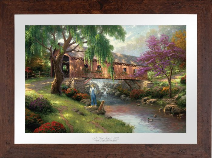 The Old Fishin' Hole – Limited Edition Paper