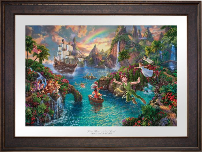 Disney Peter Pan's Never Land – Limited Edition Paper