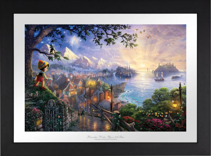 Pinocchio Wishes Upon A Star – Limited Edition Paper
