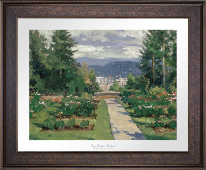 Rose Garden, Portland – Limited Edition Paper