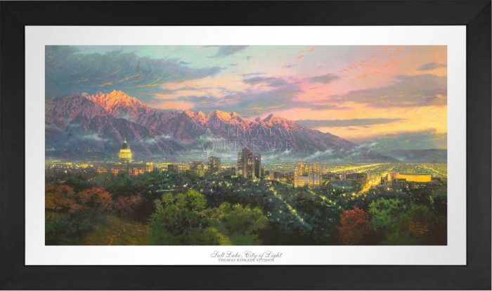 Salt Lake, City of Lights – Limited Edition Paper