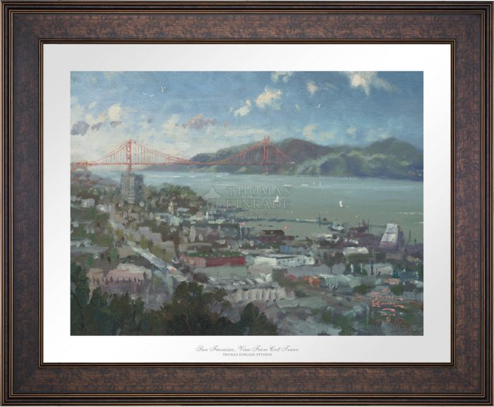 San Francisco, View from Coit Tower – Limited Edition Paper